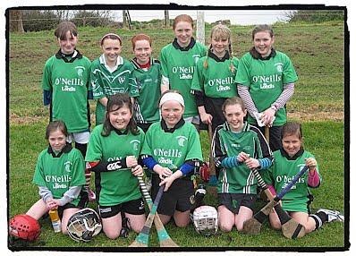 Killeagh U12 Team for the Blitz