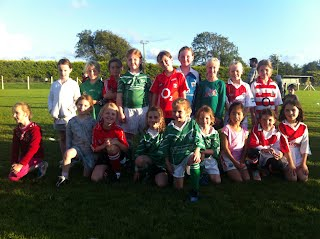 Killeagh U8 Panel for the match
