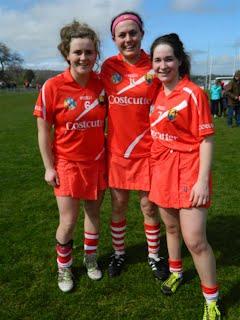 Killeagh girls on the Cork Panel: Leah, Hannah and Ellen